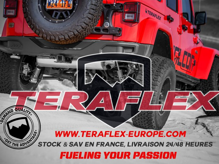 Amortisseurs Falcon Teraflex enfin disponible