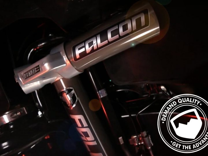 Falcon shocks en vidéo par Teraflex