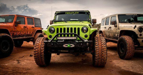 Rehausse Jeep JK