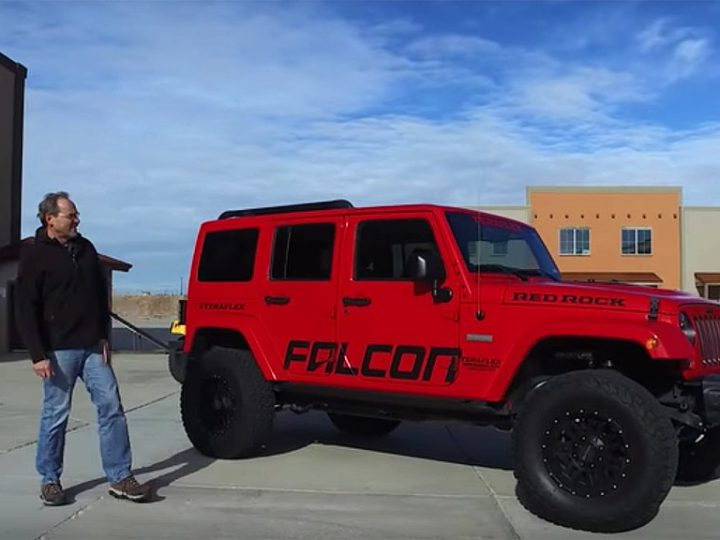 Jeep review by Teraflex