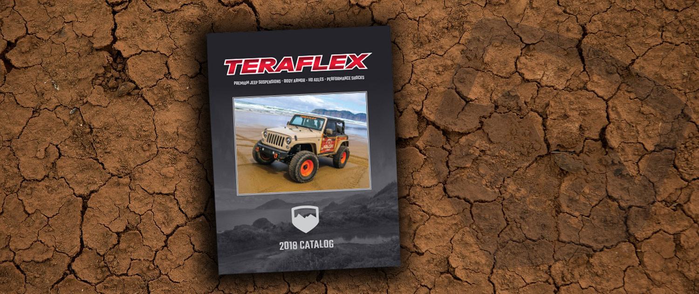 Le catalogue Teraflex 2018 téléchargeable
