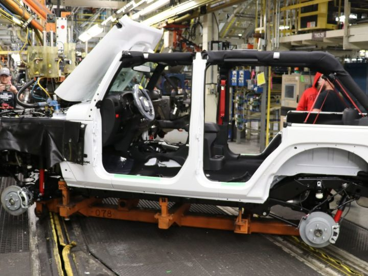 Last JK WRANGLER rolls out of Toledo Plant