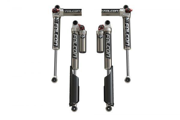 JL -Falcon Series 3.3 Fast Adjust Piggyback Shock Absorbers