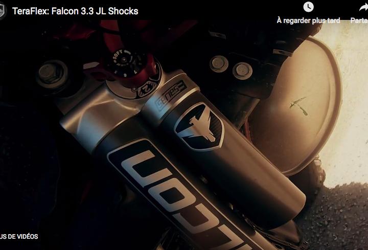 Vidéo Teraflex, amortisseurs Falcon 3.3 pour Jeep JL