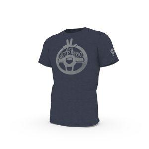 Teraflex Europe - Mens TeraFlex Jeep Wave T-Shirt w/Distressed Jeep Wave Graphic