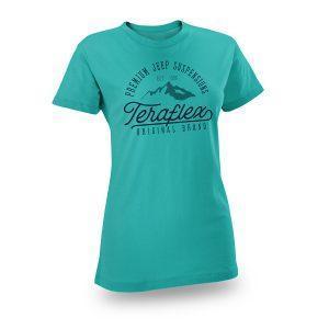 Teraflex Europe - Womens TeraFlex Script T-Shirt w/Mountain Graphic